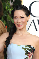 BEVERLY HILLS, CA - JANUARY 13: Lucy Liu at the 70th Annual Golden Globe Awards at the Beverly Hills Hilton Hotel in Beverly Hills, California. January 13, 2013. Credit: mpi29/MediaPunch Inc. /NortePhoto