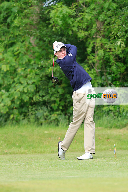 Stuart Grehan (Tullamore) on the 6th tee during Round 5 of the Irish Amateur Close Championship at Seapoint Golf Club on Tuesday 10th June 2014.<br /> Picture:  Thos Caffrey / www.golffile.ie