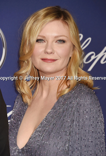 PALM SPRINGS, CA - JANUARY 02: Actress Kirsten Dunst attends the 28th Annual Palm Springs International Film Festival Film Awards Gala at the Palm Springs Convention Center on January 2, 2017 in Palm Springs, California.
