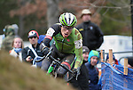 January 10, 2016 - Asheville, North Carolina, U.S. - Cannondale cyclist, Stephen Hyde, in action during the USA Cycling Cyclo-Cross National Championships at the historic Biltmore Estate, Asheville, North Carolina.