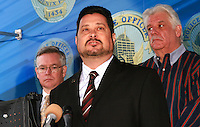 Michael Nowakoski Vice Mayor Speaking at the fourth annual Stop Random Gunfire Press Conference in Phoenix, AZ, on this Wednesday, December 29, 2010. .Photo by AJ Alexander/AJAimages