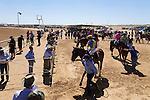 Birdsville Cup horse races in the outback town of Birdsville, Queensland, Australia