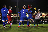 Marvin Morgan of Hornchurch goes close during Hornchurch vs Aveley, Buildbase FA Trophy Football at Hornchurch Stadium on 11th January 2020