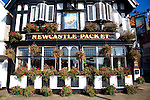 Newcastle Packet pub, Scarborough, Yorkshire, England