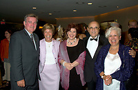 Montreal, August 23rd 2001 File Photo<br /> From Left to Right (L-R)<br />  Montreal Mayor ; Pierre Bourque, Quebec Ministers of International relations ;  Louise Beaudoin,  Quebec Minister of State for Culture and Communications ; Diane Lemieux, Montreal World Film Festival President ; Serge Losiquen and Quebec Minister of Municipal affairs  ; Louise Harel, pose for a photo on the World Film Festival (Festival des Films du Monde) opening night, August 23rd, 2001, in Montreal, CANADA.<br /> <br /> Photo by Pierre Roussel