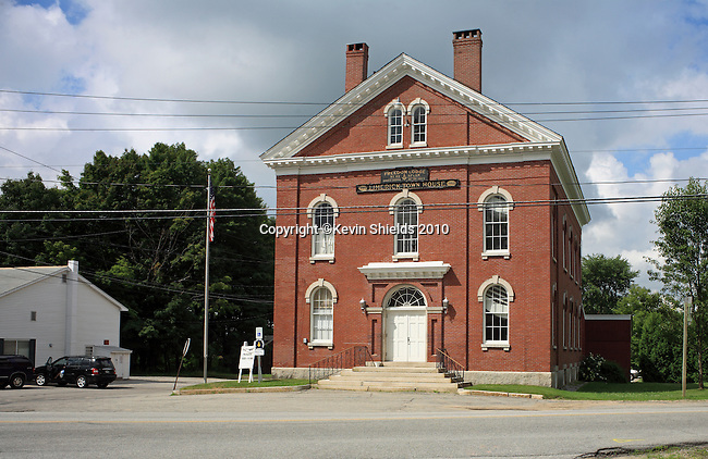 Town Hall in Limerick, Maine