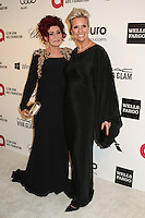 WEST HOLLYWOOD, CA - MARCH 2: Sharon Osbourne, Karen Buglisi attending the 22nd Annual Elton John AIDS Foundation Academy Awards Viewing/After Party in West Hollywood, California on March 2nd, 2014. Photo Credit: SP1/Starlitepics. /NORTePHOTO