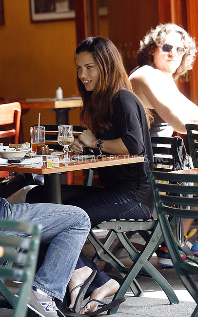 WWW.ACEPIXS.COM . . . . .  ....June 19 2008, New York City....Victoria's Secret model Adriana Lima had lunch at Bar Pitti on June 19 2008, New York City....Please byline: NANCY RIVERA- ACE PICTURES.... *** ***..Ace Pictures, Inc:  ..tel: (646) 769 0430..e-mail: info@acepixs.com..web: http://www.acepixs.com