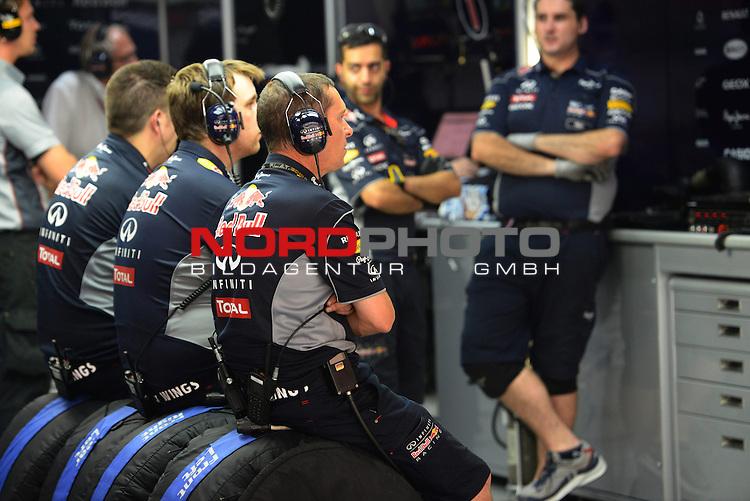 25.-27-10-2013, Jaypee-Circuit, Noida, IND, F1, Grosser Preis von Indien, Noida, im Bild  Red Bull Racing <br />  Foto &copy; nph / Mathis