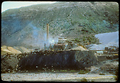 Durango smelter across Animas River from D&amp;RGW yard.<br /> D&amp;RGW  Durango, CO  ca. 1955