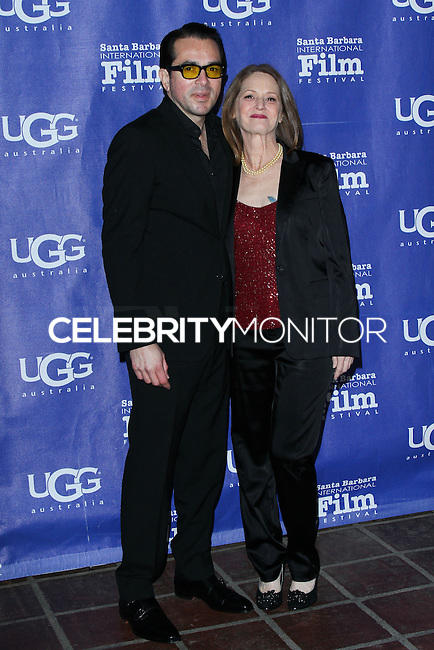 SANTA BARBARA, CA - JANUARY 31: Roger Durling, Melissa Leo at the 29th Santa Barbara International Film Festival - Outstanding Director Award Honoring David O. Russell held at Arlington Theatre on January 31, 2014 in Santa Barbara, California. (Photo by David Acosta/Celebrity Monitor)