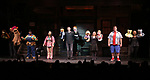 The Cast during the 'Avenue Q' 15th Anniversary Performance Curtain Call at New World Stages on July 31, 2018 in New York City.