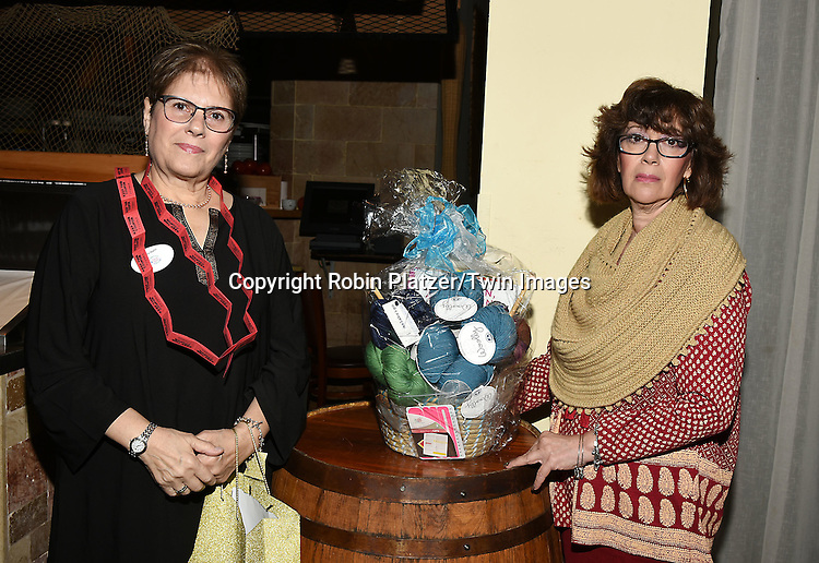 Volunteers attends the Big Apple Knitters Guild 25th Annual Luncheon Gala on September 24, 2016 at Kellari Taverna in New York City, New York, USA. <br /> <br /> photo by Robin Platzer/Twin Images<br />  <br /> phone number 212-935-0770