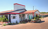 The Relax Inn on Route 66 in Tucumcari is one of the many motels that have not fared well in recent years.