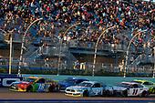 #18: Kyle Busch, Joe Gibbs Racing, Toyota Camry M&M's #4: Kevin Harvick, Stewart-Haas Racing, Ford Mustang Busch Light