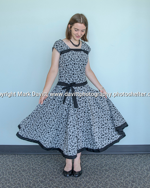 Warren County fashion review was held July 25. Emma Jakes of the Panthers 4-H Club of Indianola entry was in the Senior Fashion Review.
