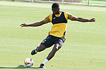 Getafe's Florent Poulolo during training session. August 3,2020.(ALTERPHOTOS/Acero)
