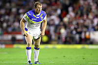 PICTURE BY ALEX WHITEHEAD/SWPIX.COM - Rugby League - Super League Play-Off - Warrington Wolves vs St Helens - The Halliwell Jones Stadium, Warrington, England - 15/09/12 - Warrington's Micky Higham.