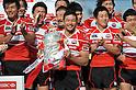 Rugby Japan National Team Group (JPN), Toshiaki Hirose (JPN),.MAY 19, 2012 - Rugby : HSBC Asian Five Nations 2012 match between Japan 67-0 Hong Kong at Chichibunomiya Rugby Stadium, Tokyo, Japan. (Photo by Jun Tsukida/AFLO SPORT) [0003].