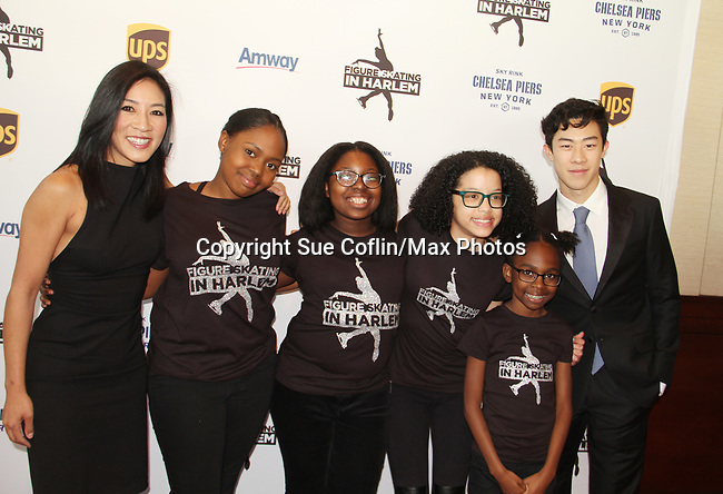 Michelle Kwan - Skaters - Nathan Chen at Figure Skating in Harlem's Champions in Life (in its 21st year) Benefit Gala recognizing the medal-winning 2018 US Olympic Figure Skating Team on May 1, 2018 at Pier Sixty at Chelsea Piers, New York City, New York. (Photo by Sue Coflin/Max Photo)