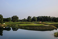 A general view of the 2nd hole during previews for the Shot Clock Masters, Diamond Country Club, Atzenbrugg, Vienna, Austria. 06/06/2018<br /> Picture: Golffile | Phil Inglis<br /> <br /> All photo usage must carry mandatory copyright credit (&copy; Golffile | Phil Inglis)