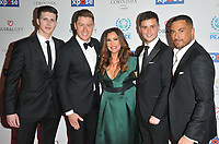 Jack Pack and Maria Bravo at the Football For Peace Initiative Dinner by Global Gift Foundation, Corinthia Hotel, Whitehall Place, London, England, UK, on Monday 08th April 2019.<br /> CAP/CAN<br /> ©CAN/Capital Pictures