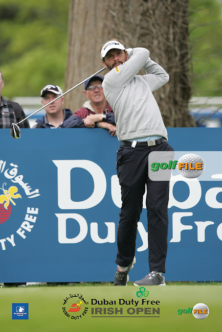 Joost Luiten (NED) during Wednesday's Pro-Am ahead of the 2016 Dubai Duty Free Irish Open Hosted by The Rory Foundation which is played at the K Club Golf Resort, Straffan, Co. Kildare, Ireland. 18/05/2016. Picture Golffile | TJ Caffrey.<br /> <br /> All photo usage must display a mandatory copyright credit as: &copy; Golffile | TJ Caffrey.