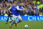 1st October 2017, Hillsborough, Sheffield, England; EFL Championship football, Sheffield Wednesday versus Leeds United; Gary Hooper of Sheffield Wednesday makes a run with the ball