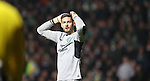 Craig Gordon of Celtic during the Champions League match at Celtic Park, Glasgow. Picture Date: 23rd November 2016. Pic taken by Lynne Cameron/Sportimage