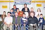 The prize winners at the Owencree fishing club Youth Training National Schools Competition in Barraduff on Sunday front row l-r: Noel Carr Secretary of FISSTA, Flor O'Riordan, Shane Nagle Rathmore, Fr Jim Brown Gneeveguilla, Padraig O'Doherty Rathmore. Back row: Timmy O'Doherty Rathmore, Saoirse Kelly Knocknanes, Michael J O'Keeffe Chairman, Damian Nagle Rathmore, Michael O'Donoghue Knockanes, Donal O'Doherty Secretary, Aidan Kerins Ballydesmond and Catriona Cotter Barradubh   Copyright Kerry's Eye 2008