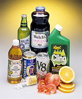 ACIDS IN COMMON HOUSEHOLD PRODUCTS<br />