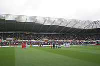 Pictured: A General View of the Liberty Stadium during todays game<br /> Re: Coca Cola Championship, Swansea City Football Club v Watford at the Liberty Stadium, Swansea, south Wales 09 November 2008.<br /> Picture by Dimitrios Legakis Photography (Athena Picture Agency), Swansea, 07815441513