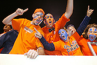 ACC fans at a University of Virginia football game. Photo/Andrew Shurtleff