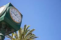 Centennial Clock on Pier Avenue at Hermosa Beach Pier