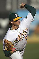 Barry Zito. New York Yankees vs Oakland Athletics. Oakland, CA 9/4/2005 MANDATORY CREDIT: Brad Mangin