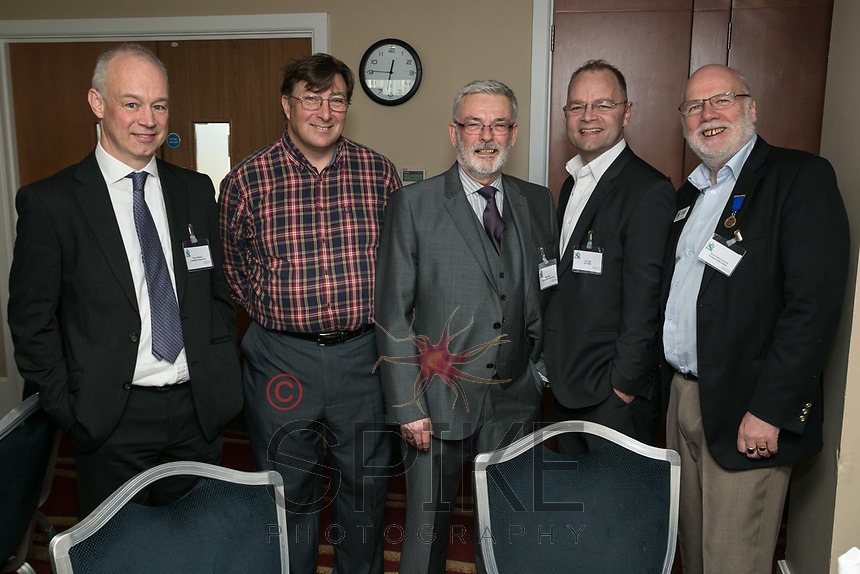 From left are Shaun Sherlock of Swindell & Pearson, Stuart Webb of the Com;ete Approach, Mike Butler of Thompson Butler Associates, Terry Ellis of H2O Digital and Steve Potts of Andante