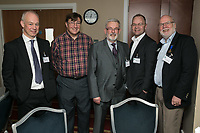 From left are Shaun Sherlock of Swindell & Pearson, Stuart Webb of the Com;ete Approach, Mike Butler of Thompson Butler Associates, Terry Ellis of H2O Digital and Steve Potts of Andante
