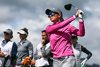Madelene Sagstrom. McKayson NZ Women's Golf Open, Round Two, Windross Farm Golf Course, Manukau, Auckland, New Zealand, Saturday 30 September 2017.  Photo: Simon Watts/www.bwmedia.co.nz