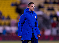COLUMBUS, OH - NOVEMBER 07: Milan Ivanovic of the United States watches the USWNT during a game between Sweden and USWNT at Mapfre Stadium on November 07, 2019 in Columbus, Ohio.