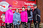 Jennifer Williams, Mary Young, Peggy Hannifin, Deniece Williams and Helenina Williams at the Garvey Supervalu Operation Transformation walk on Sunday