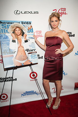 NEW YORK, NY - FEBRUARY 12: Cover model Kate Upton  attends the Sports Illustrated  2013 Swimsuit edition Launch Party hosted by Crimson in New York City. © Diego Corredor/MediaPunch Inc. ...