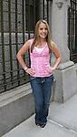 Kristen Alderson at the OLTL Studios, New York City, New York. (Photo by Sue Coflin/Max Photos)