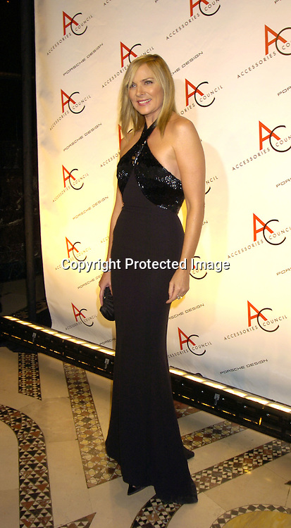 Kim Cattrall ..at The Accessories Council 8th Annual ACE Awards on ..November 1, 2004 at Cipriani 42nd Street. ..Photo by Robin Platzer, Twin Images
