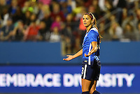 Frisco, TX. - February 15, 2016: The U.S. Women's National team takes 4-0 lead over Puerto Rico in first half action in CONCACAF Women's Olympic Qualifying at Toyota Stadium.