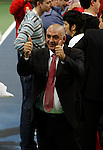 Serbian tennis federation president Slobodan Boba Zivojinovic during Davis Cup finals Serbia vs France in Belgrade Arena in Belgrade, Serbia, Sunday, 5. December 2010. (credit & photo: Pedja Milosavljevic/SIPA PRESS)