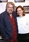 Dave Malloy and Eliza Bent attend the 2018 New York Theatre Workshop Gala at the The Altman Building on April 16, 2018 in New York City