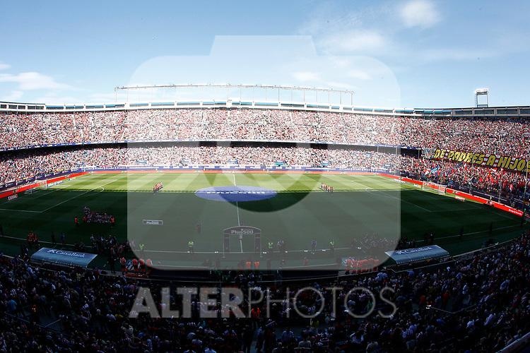 Atletico de Madrid's supporters during La Liga match. March 19,2017. (ALTERPHOTOS/Acero)