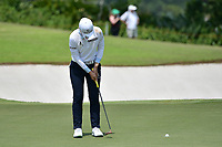 SINGAPORE - MARCH 03: Sung Hyun Park of South Korea final putt on the 18th green during the final round of the HSBC Women's World Championship 2019 at Sentosa Golf Club - Tanjong Course, Singapore on March 03, 2019.<br /> .<br /> .<br /> .<br /> (Photo by: Naratip Golf Srisupab/SEALs Sports Images)<br /> .<br /> Any image use must include a mandatory credit line adjacent to the content which should read: Naratip Golf Srisupab/SEALs Sports Images