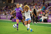 Orlando, FL - Wednesday September 11, 2019: Rachel Hill, Casey Short , Orlando Pride vs  Chicago Red Stars at Exploria Stadium.