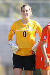 26 October 2008: Clemson's Paula Pritzen. The Duke University Blue Devils defeated the Clemson University Tigers 6-0 at Koskinen Stadium in Durham, North Carolina in an NCAA Division I Women's college soccer game.